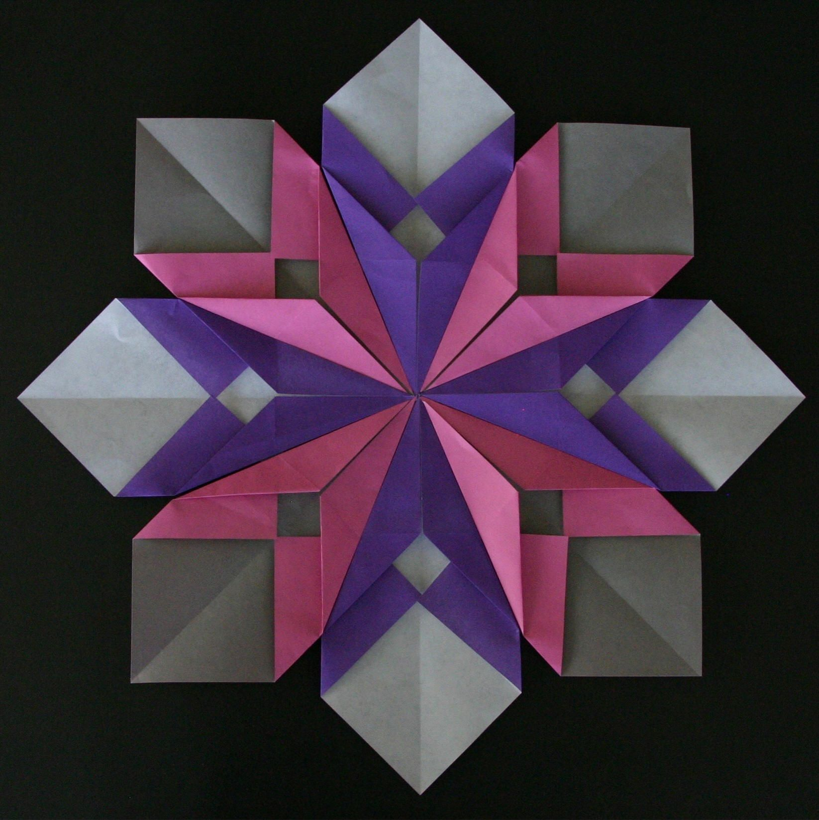 Origami Petal Flowers Art Crafte Pinterest Origami Paper