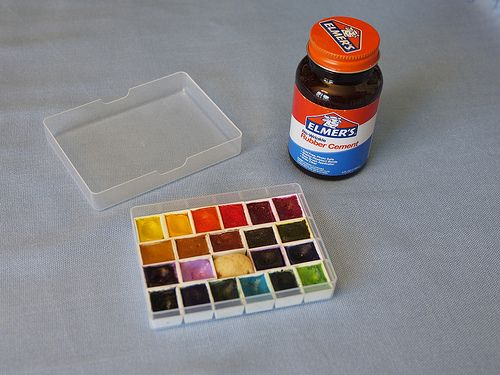 Diy Watercolor Palette Diy Watercolor