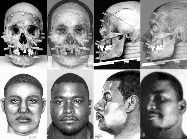 forensic anthropology facial reconstruction