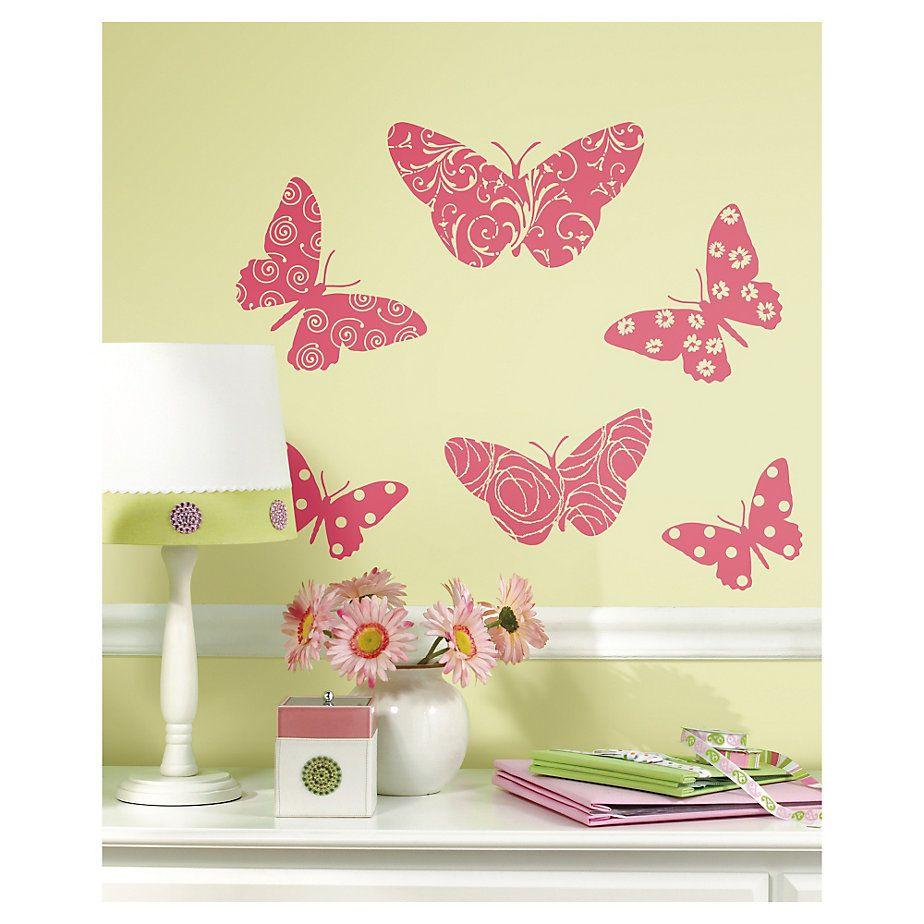 Roommates Stickers decorativo Mariposa