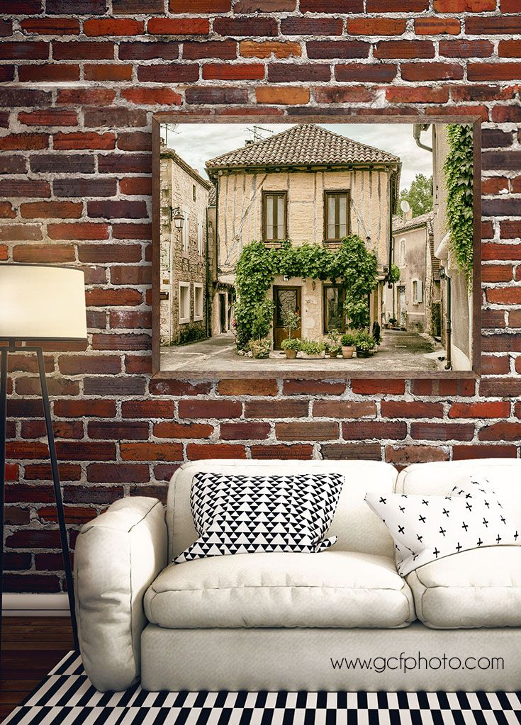 Gorgeous home decor wall art prints add a touch of french style to your home