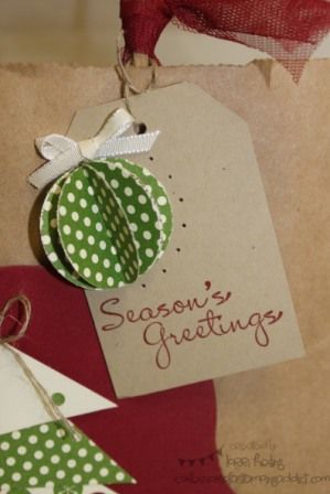 Christmas Tag by LorriHeiling - Cards and Paper Crafts at Splitcoaststampers