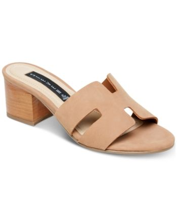 9f8e0f4b509 Foreva Block-Heel Sandals in 2019 | Products | Heels, Shoes, Sandals
