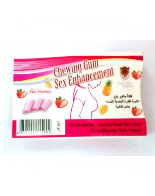 jaguar power enhancement chewing gum for women delay sprays