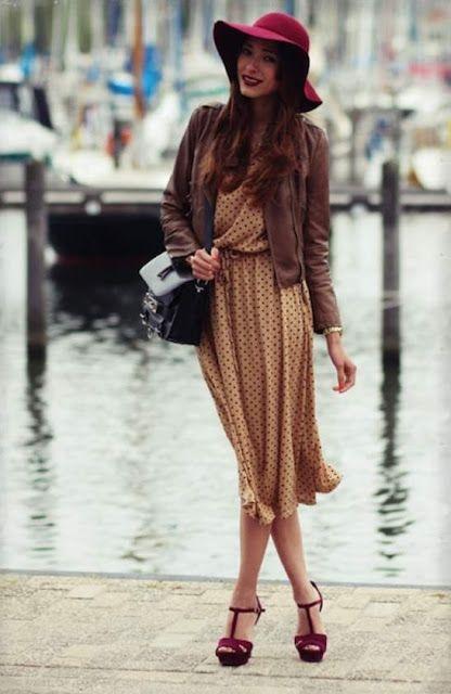 DRESS WITH DRESS  Πουά Φόρεμα! 5 Διαφορετικές Επιλογές Του! Δείτε Πως Να Το  Φορέσετε 473594de633