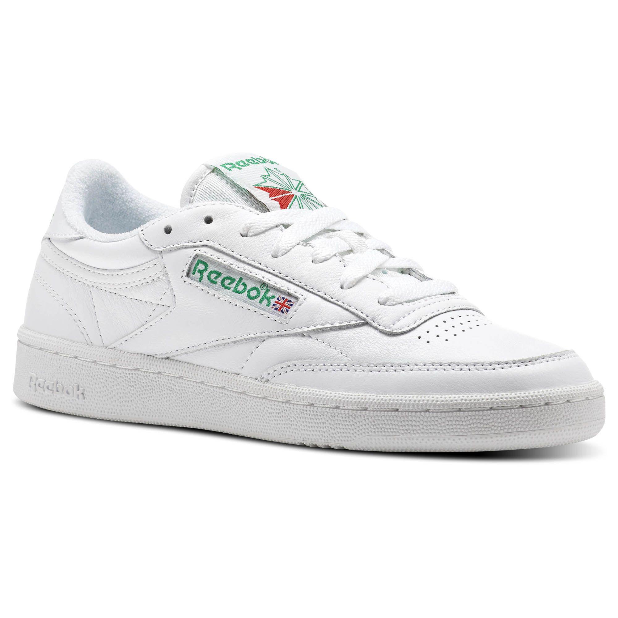 Sneakers, Reebok shoes, Reebok club