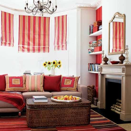 bright living room by homes and gardens - Bright Living Room Ideas