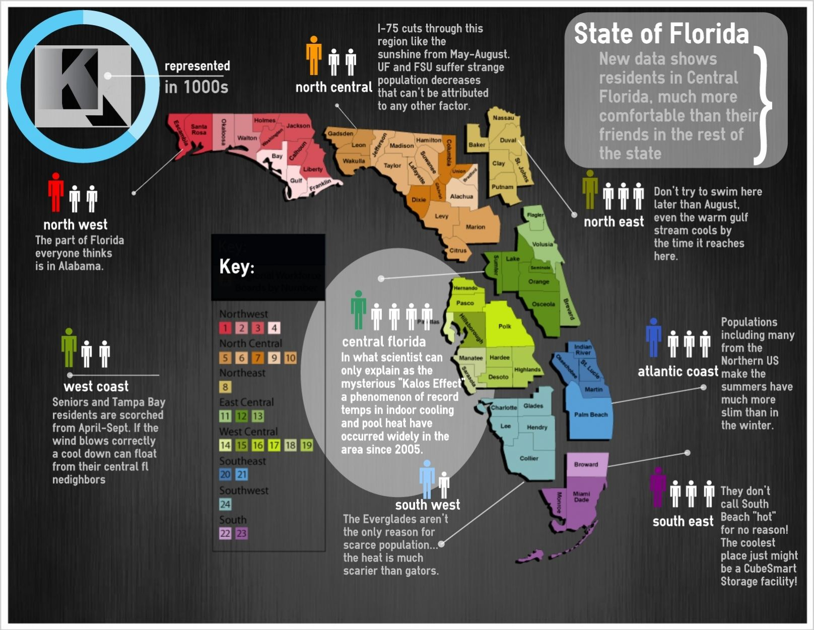 Hvac Poolheater A C Florida Comfort Florida Regional Map Of