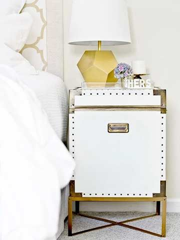 Dreamy Nightstand Makeovers