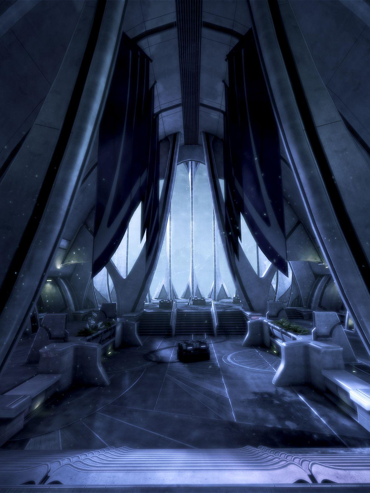 """Mass Effect 3 (BioWare, 2012)""""Frostspire"""""""