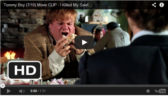 The 6 Secrets of SelfControl Movie clip, Tommy boy
