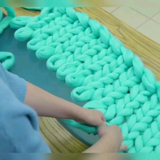 Photo of DIY Chunky Blanket/ Australian Merino Wool for sale