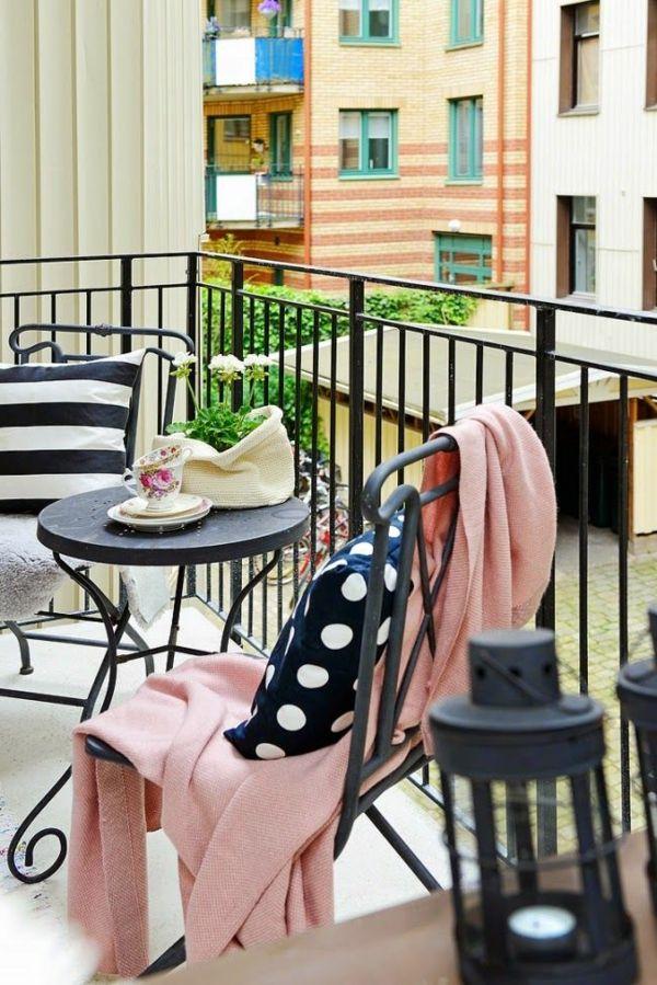 Moderne Balkonmobel Aus Metall Balkon Balcony Pinterest