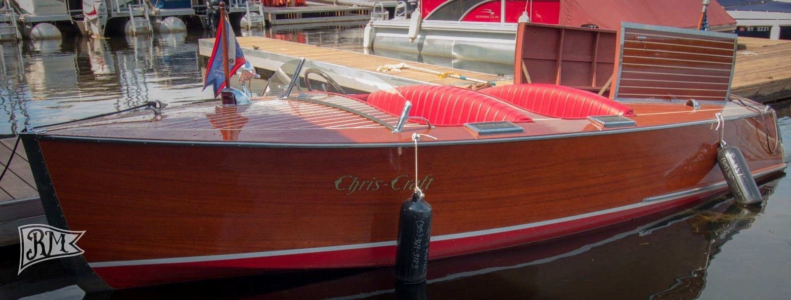 1937 Chris Craft 17 Deluxe Runabout Wooden Boats Runabout Boat