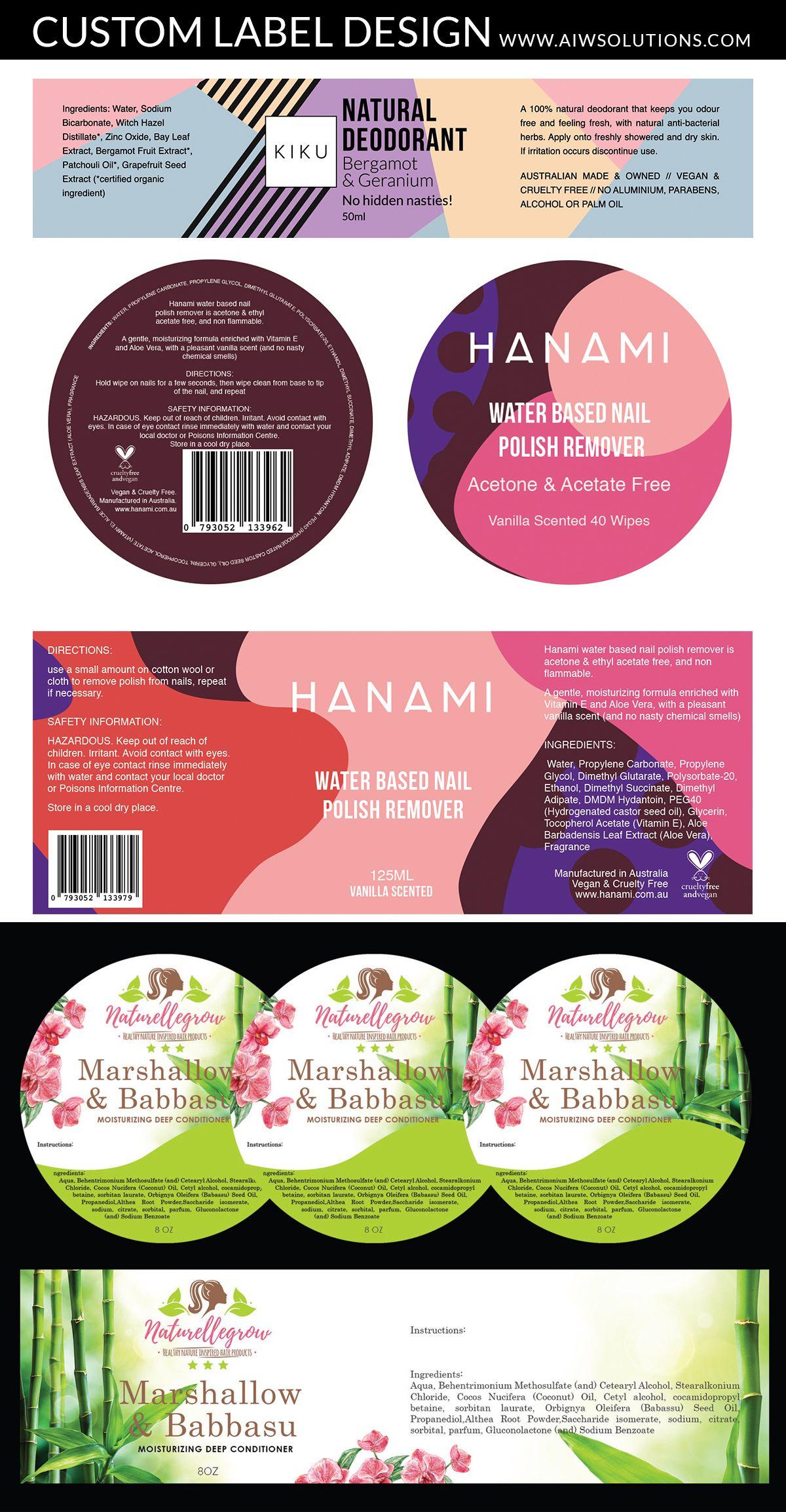 Custom label designscrubs bath label hang tag design soap label design