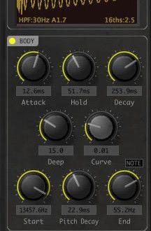 Big Kick Drum Synthesizer VST Plugin by Plugin Boutique | Music