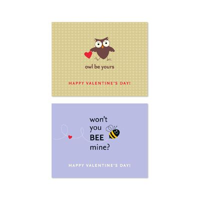 Owl Be Yours & You Bee Mine - MDS Digital Valentines! So Cute!