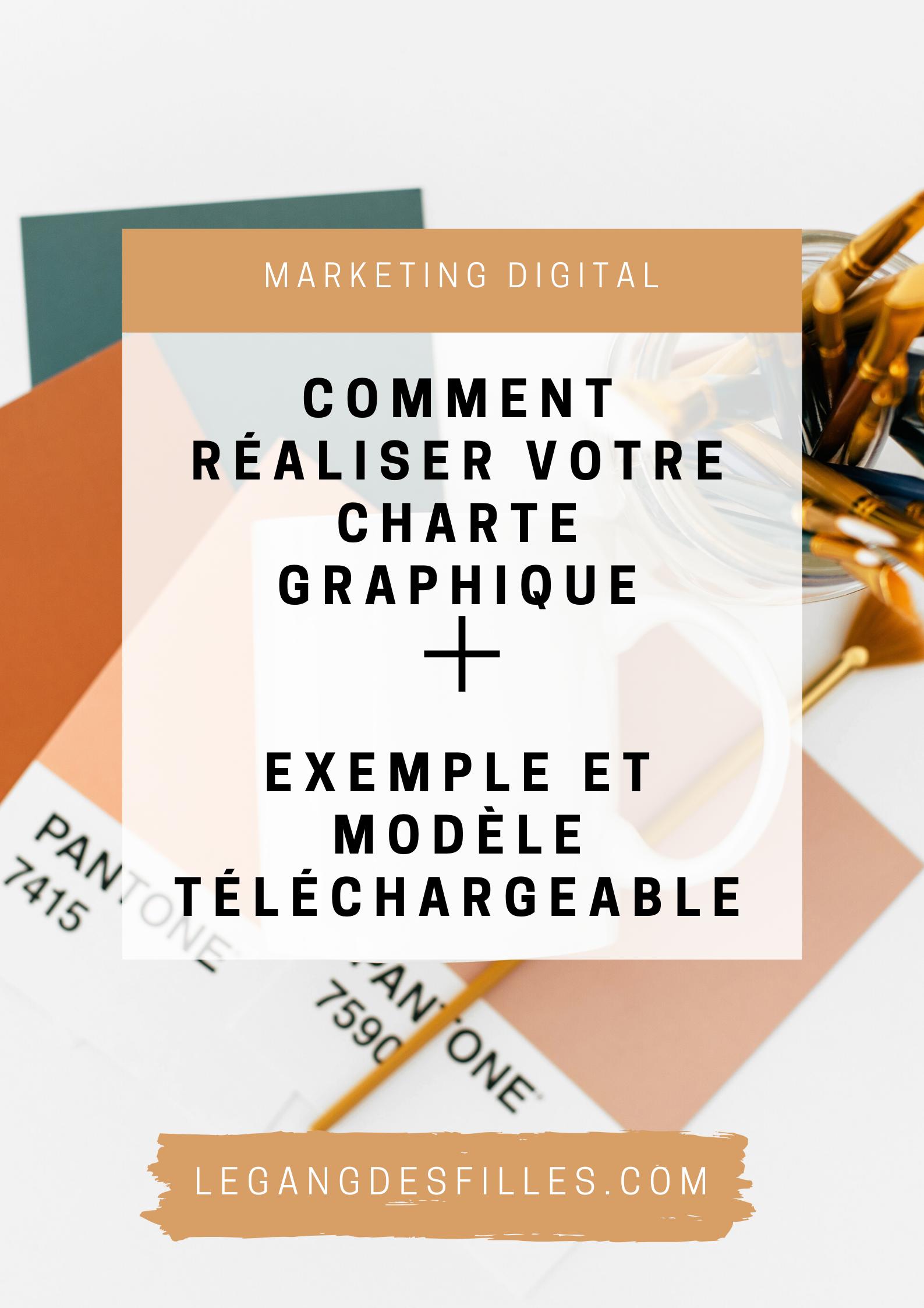 Comment Realiser Votre Charte Graphique Exemple Et Modele Telechargeable Legangdesfilles Charte Graphique Charte Graphique Exemple Charte Graphique Logo