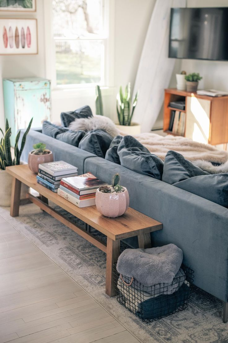 Photo of Dwelling Room Reveal + Rove Ideas Hugo Sectional Evaluate