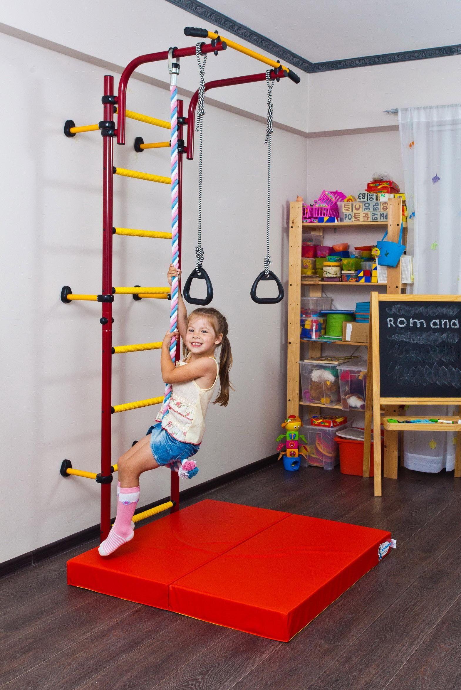 Children\'s Playground Set Home Gym - Komet Next1. Swedish wall ...