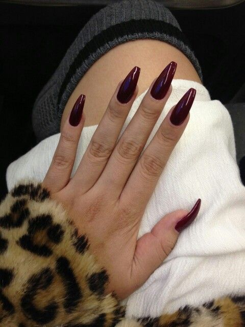 Vamp nails @deexcn   nails.   Pinterest   Uñas