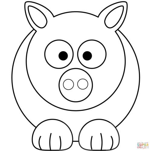 Imagenes Kawaii Dibujos Para Colorear Tiernos Y Bonitos Todo Imagenes Peppa Pig Coloring Pages Animal Coloring Pages Simple Cartoon