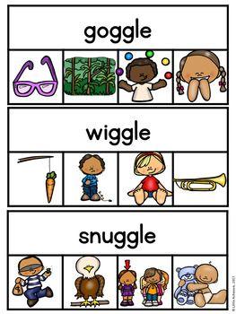 Final Stable Syllables Clip Cards | Clip cards, Syllable ...