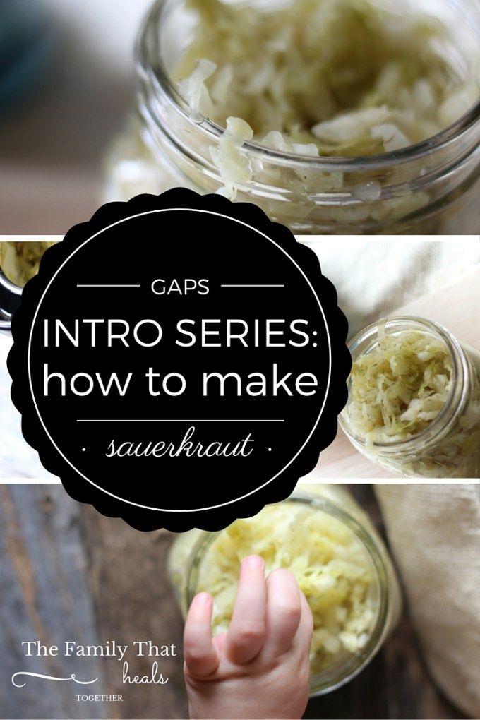 how to make fresh sauerkraut