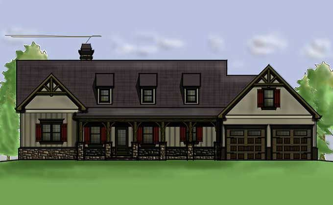 Inspirational Craftsman Walkout Basement House Plans
