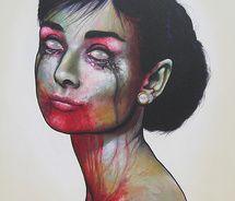 Zombie tear drop