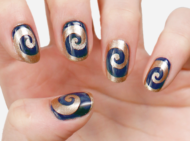 St Louis Rams Makeup Look How To Covergirl Football Nail Art Football Nails Football Nail Designs