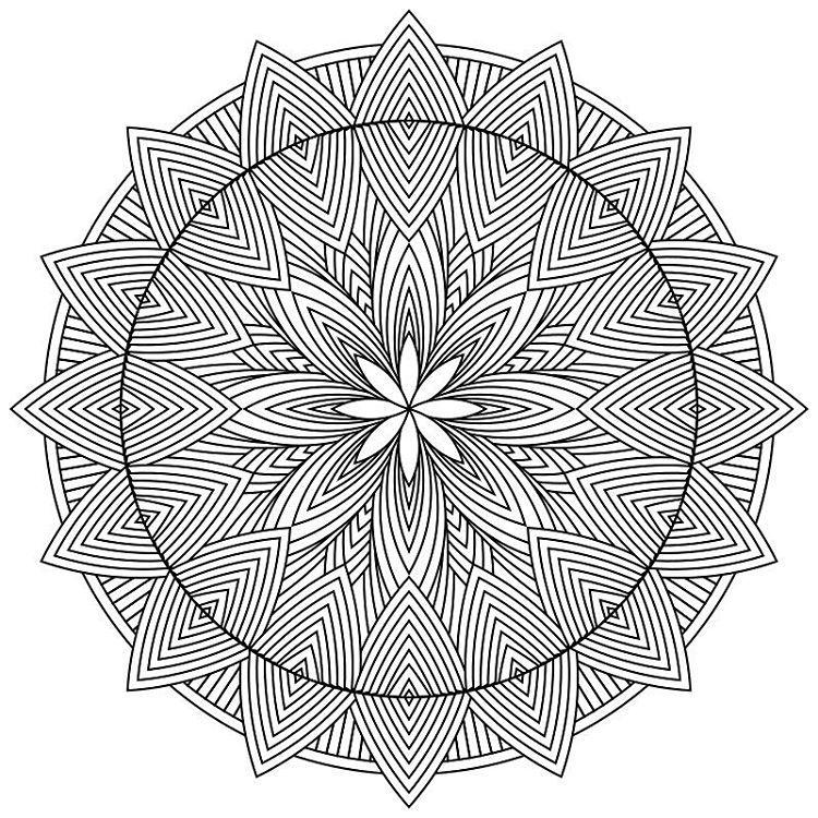 Feeling very creative lately and adding multiple free Mandala ...