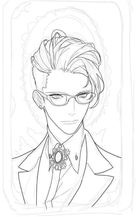 Anime Guy Hairstyle Elegant Well You Re Quite Handsome Easy Hairstyles Anime Elegant Hairstyle Hairstyles Anime Boy Hair Anime Sketch Boy Hair Drawing