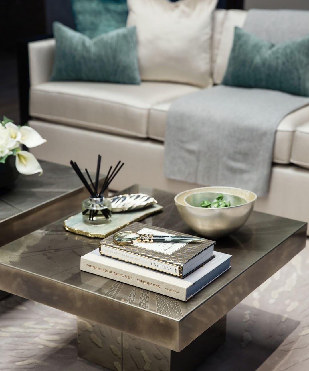 We Love The Calm Relaxed Palette In Our Recent Dubai Project Dubai Uae Dubaiinteriordesig Coffee Table Accessories Coffee Table Table Accessories [ 1296 x 1080 Pixel ]
