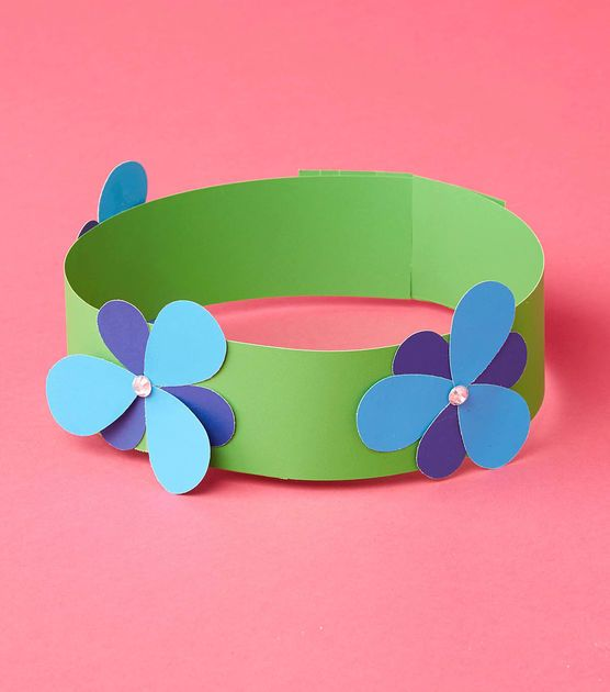 How to make a flower headband trolls pinterest for Party decorations you can make at home