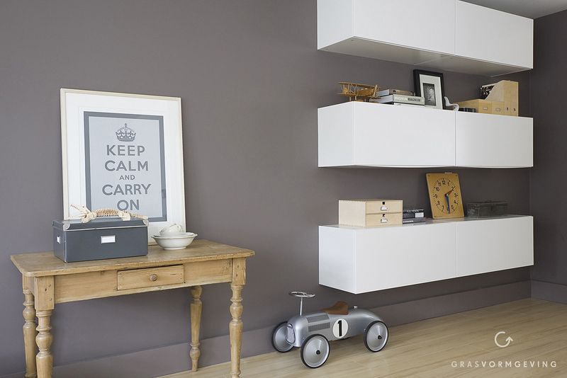 IKEA Hackers: Kitchen unit goes stylish livingroom storage ...