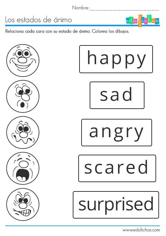 Feelings | Kids | Pinterest | Englisch und Deutsch