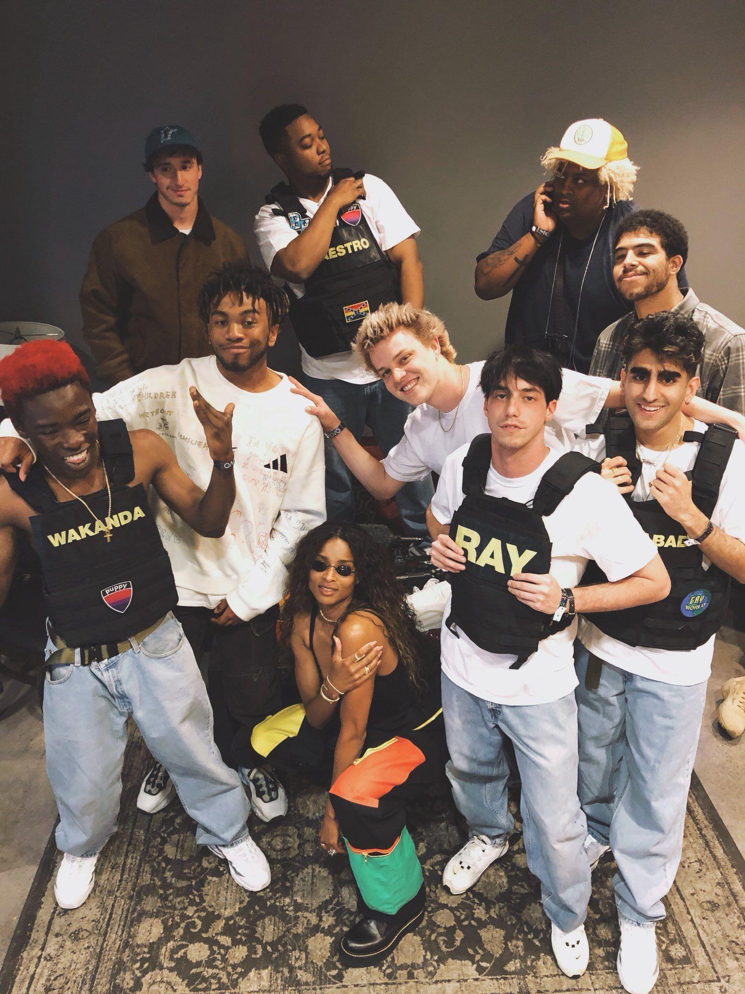 All-American Boyband BROCKHAMPTON presents Saturation II  in 2019
