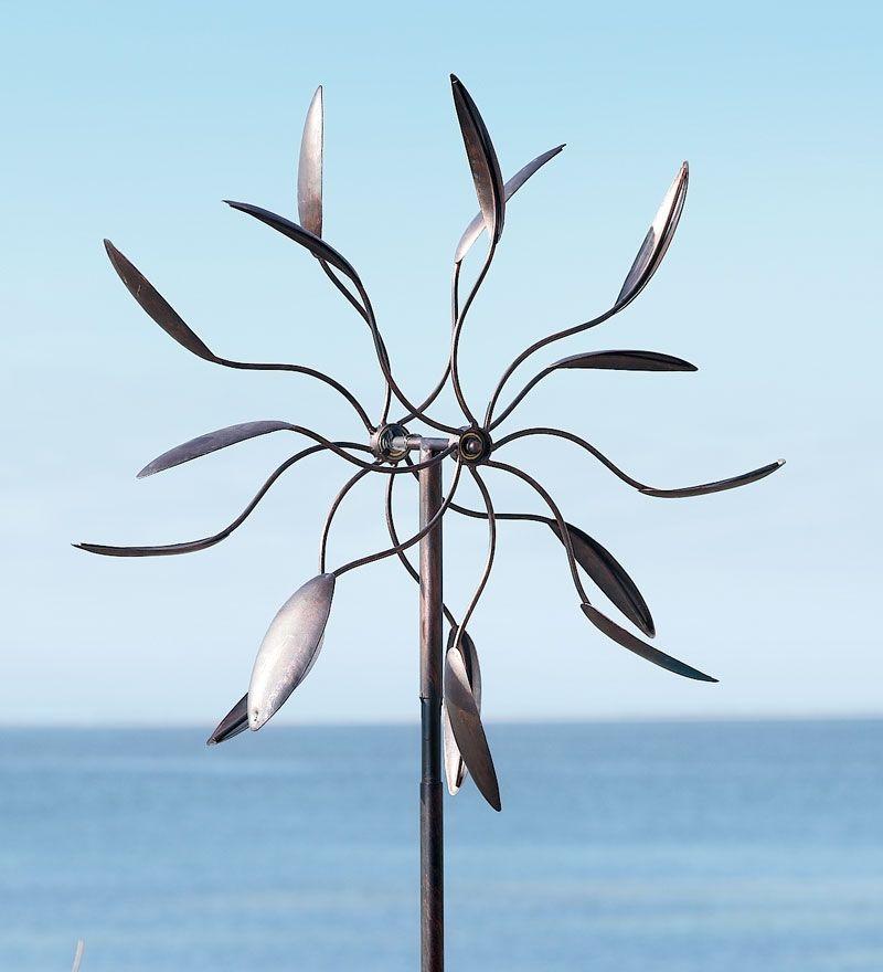 Garden Dancer Windcatcher, Metal Wind Spinner   Wind U0026 Weather