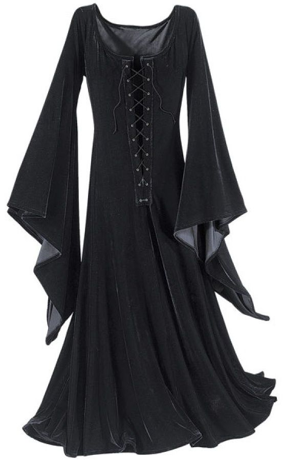 typical witchy-esque dress. (from pyramid collection)