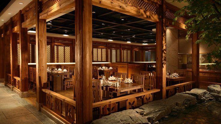 Korean restaurant interior google 검색 in koreastyle