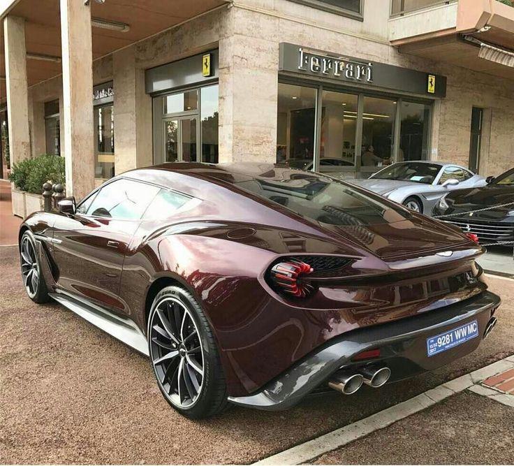 Cool Ferrari Aston Martin Vanquish Zagato Cars Check