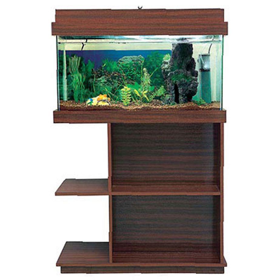 Aquamundo acuario con mueble y tapa de luz 80 x 40 x 31 cm acuario tapas y luces - Muebles tapa tapa ...