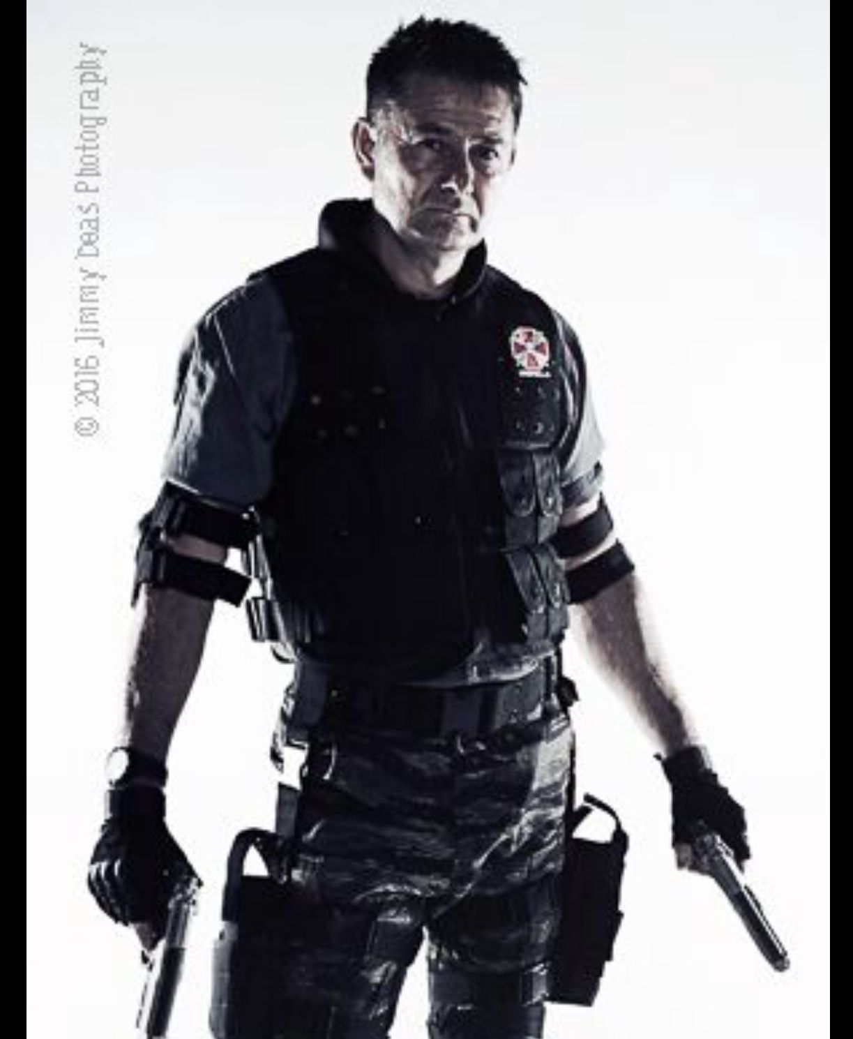 My Carlos Olivera Cosplay From Resident Evil Apocalypse