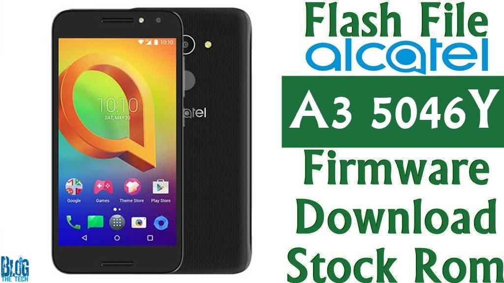 Flash File Alcatel A3 5046Y Firmware Download Stock Rom | Firmware