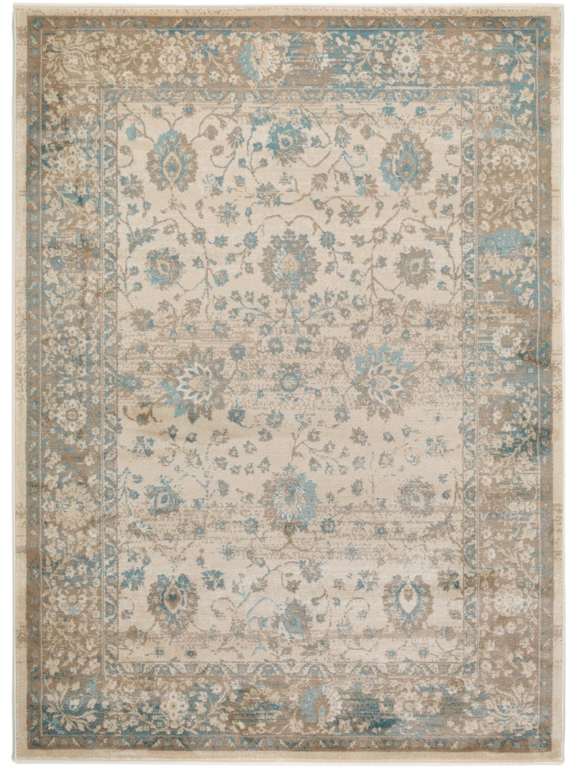 Teppich 300x400 Benuta Velvet Vintage Rug Cream In 2019 Floral Home Decor And Rugs