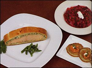 Salmon in Pastry