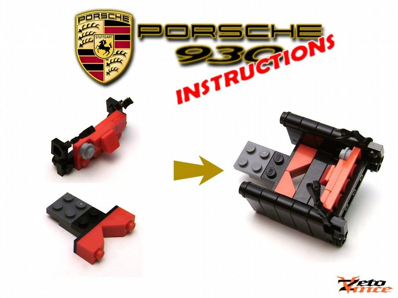 Porsche 930 Car Pinterest Porsche 930 Lego Creations And Legos