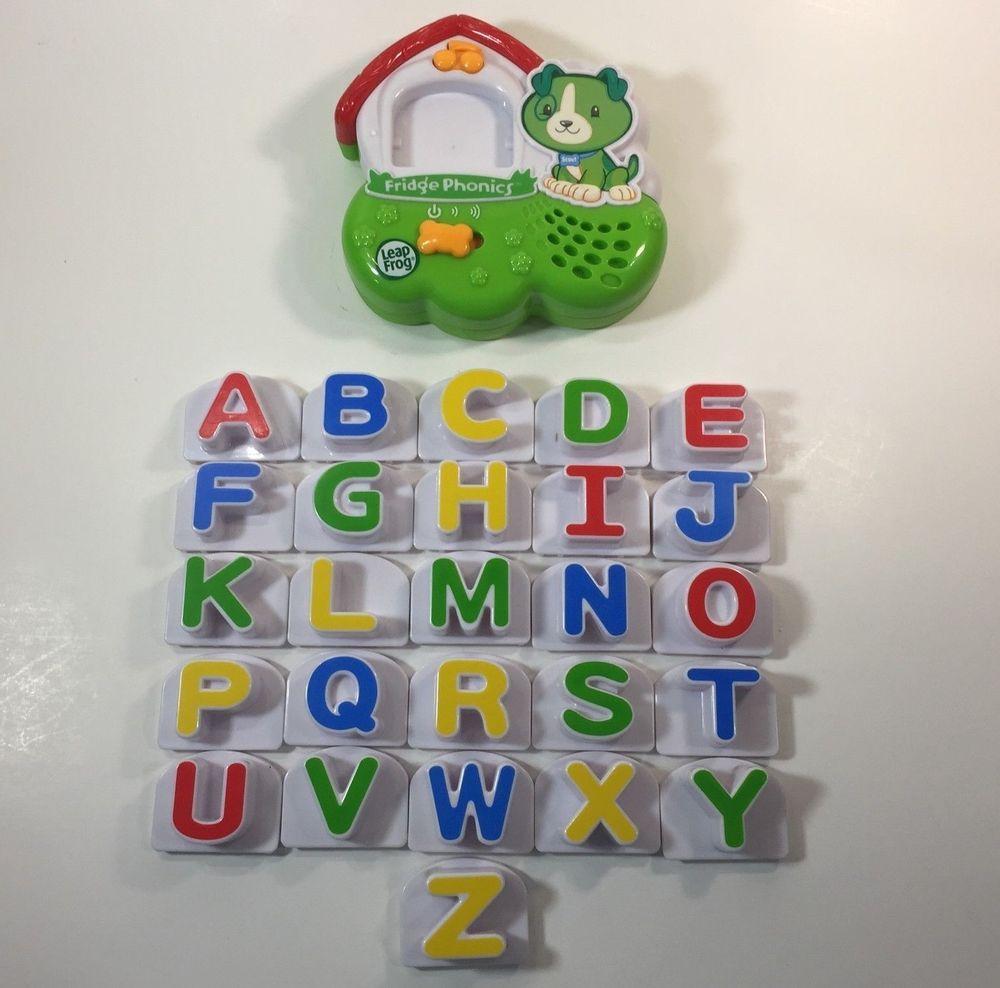 Leap Frog Fridge Phonics Alphabet Scout Dog Magnetic Letters Sound