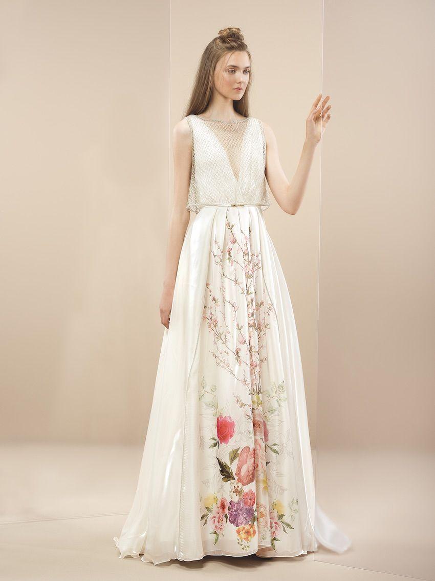 Resultado de imagen para vestidos de novia hippies sencillos ...